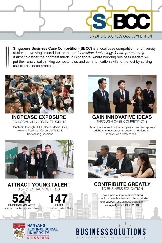 SINGAPORE BUSINESS CASE COMPETITION (SBCC) – Business Solutions