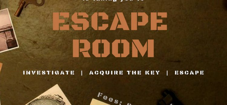 INVESTIGATE. ACQUIRE THE KEY. ESCAPE THE ROOM. – Spend an Inquisitive Evening with Your Friends