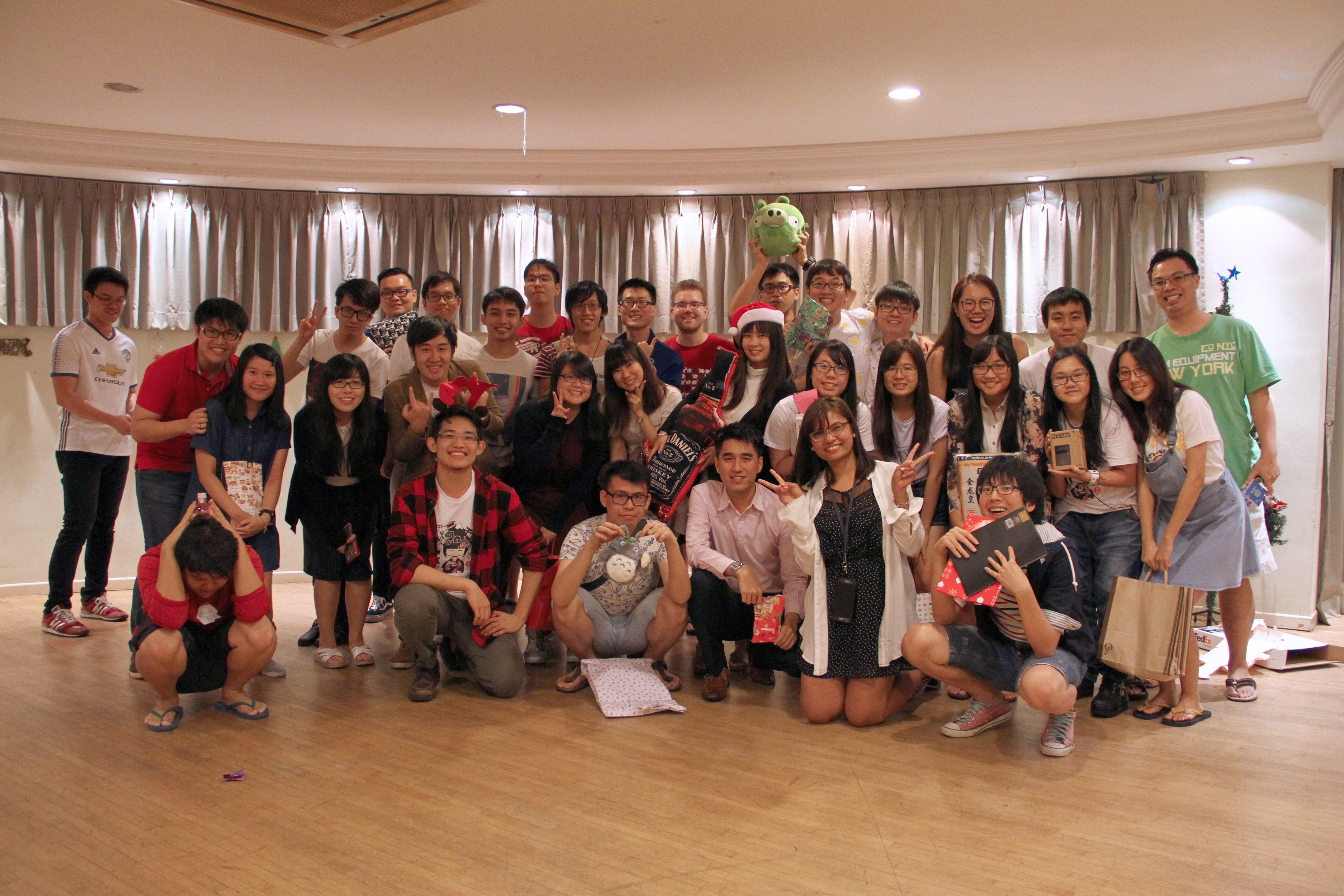A group photo of JAC Christmas Party 2017